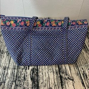 Vera Bradley Vintage Royal Miller Bag Tote